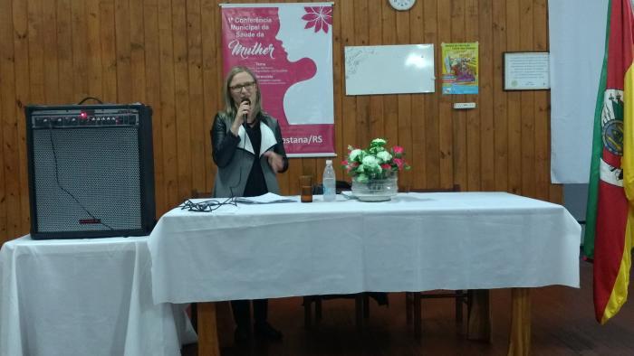 Município realiza Conferência da Saúde da Mulher