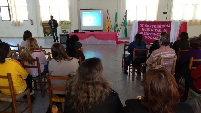 CRAS realiza conferência de Assistência Social