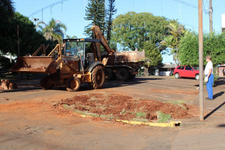 Iniciada construção da Rua Coberta em Augusto Pestana