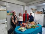 CRAS recebe doação de alimentos não perecíveis