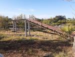 Obra da passarela do parque deve ser entregue nos próximos dias