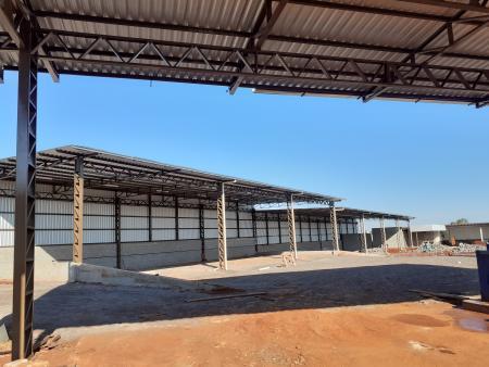 Construção da nova Secretaria de Obras está 70% concluída