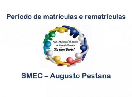 SMEC divulga prazos de matrículas e rematrículas da Rede Municipal