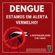 ÍNDICE DE FOCOS DO MOSQUITO DA DENGUE DEIXA MUNICÍPIO EM ALERTA