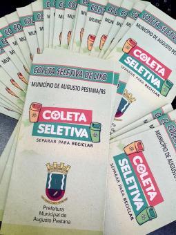 """Município divulga Campanha de Coleta Seletiva: """"SEPARAR PARA RECICLAR"""""""