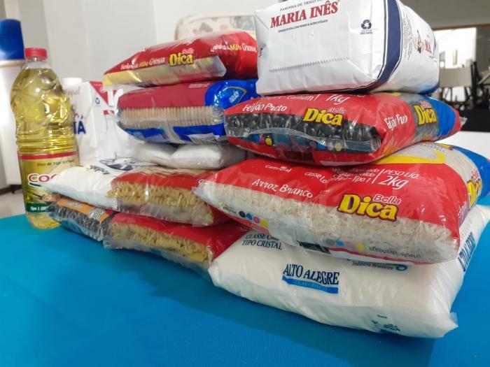 Município arrecadou mais de mil quilos de alimentos