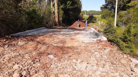Ponte em Rincão dos Menegol será liberada hoje